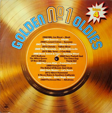Cover Various - Golden No. 1 Oldies Volume 4 (LP, Comp, Club) Schallplatten Ankauf