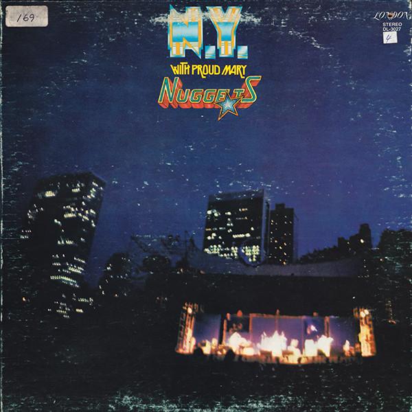 Cover zu Nuggets - N.Y. With Proud Mary (LP, Album) Schallplatten Ankauf