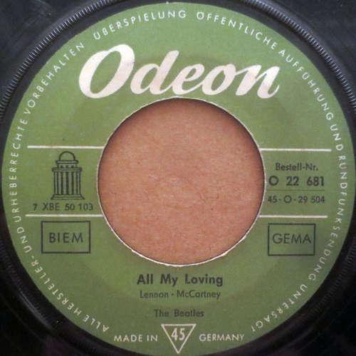 Cover The Beatles - All My Loving (7, Single, Mono) Schallplatten Ankauf