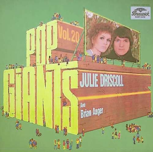 Bild Julie Driscoll And Brian Auger - Pop Giants, Vol. 20 (LP, Comp) Schallplatten Ankauf