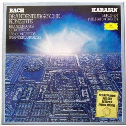 Bild Bach*, Karajan*, Berliner Philharmoniker - Brandenburgische Konzerte / Brandenburg Concertos / Les Concertos Brandebourgeois (2xLP + Box) Schallplatten Ankauf