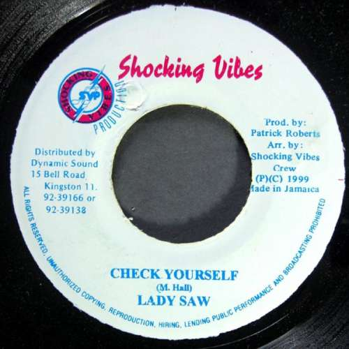 Bild Lady Saw / Tony Kelly - Check Yourself / Version Champagne (7) Schallplatten Ankauf