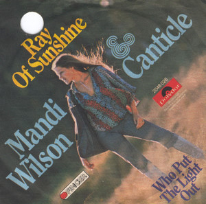 Bild Mandi Wilson & Canticle - Ray Of Sunshine (7, Single) Schallplatten Ankauf