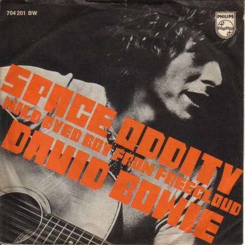 Cover David Bowie - Space Oddity (7, Single, Mono) Schallplatten Ankauf
