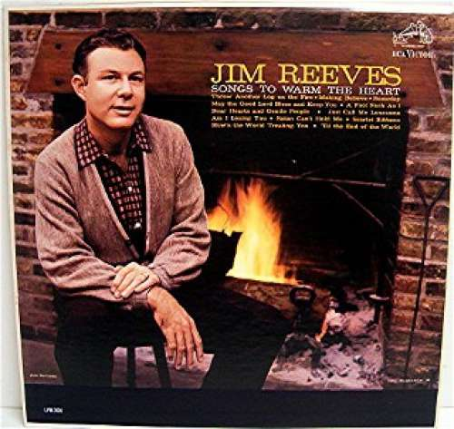 Cover zu Jim Reeves - Songs To Warm The Heart (LP, Album, Mono, RE) Schallplatten Ankauf