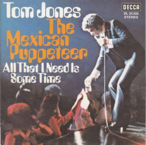 Cover zu Tom Jones - The Mexican Puppeteer (7, Single) Schallplatten Ankauf