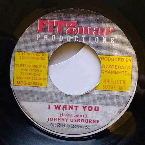 Cover Johnny Osbourne - I Want You (7) Schallplatten Ankauf