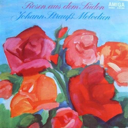 Cover zu Johann Strauß* - Staatskapelle Dresden, Carl Von Garaguly - Rosen Aus Dem Süden (LP, RP, Red) Schallplatten Ankauf
