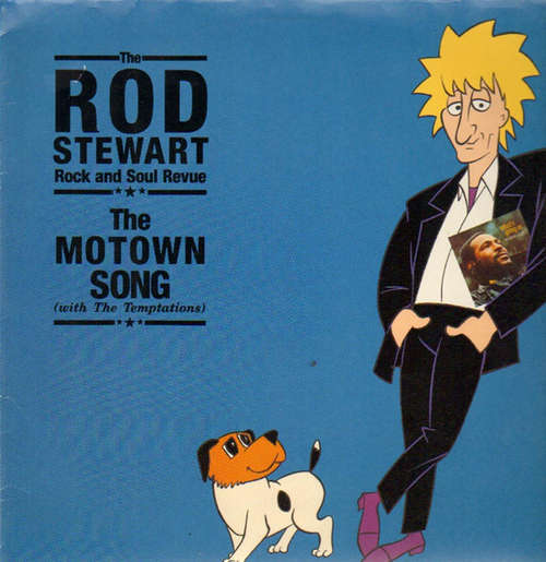 Cover zu The Rod Stewart Rock And Soul Revue*  With The Temptations - The Motown Song (12) Schallplatten Ankauf