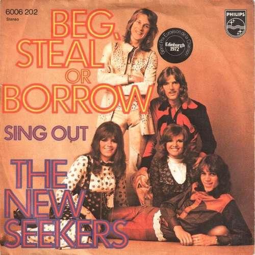 Bild The New Seekers - Beg, Steal Or Borrow (7, Single) Schallplatten Ankauf