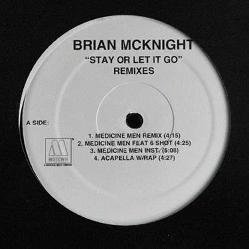 Cover Brian McKnight - Stay Or Let It Go (Remixes) (12) Schallplatten Ankauf