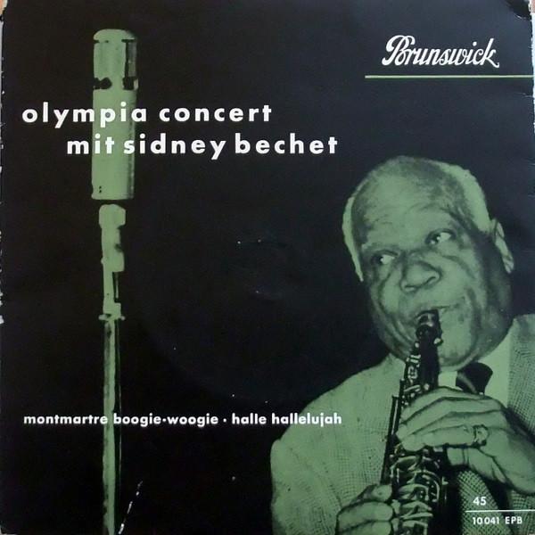 Bild Sidney Bechet - Olympia Concert Mit Sidney Bechet (7, Mono) Schallplatten Ankauf