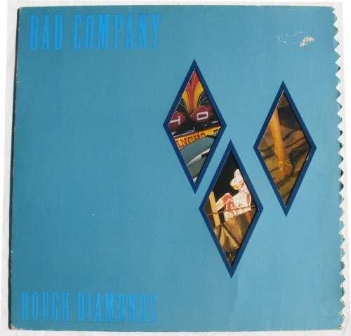 Bild Bad Company (3) - Rough Diamonds (LP, Album) Schallplatten Ankauf