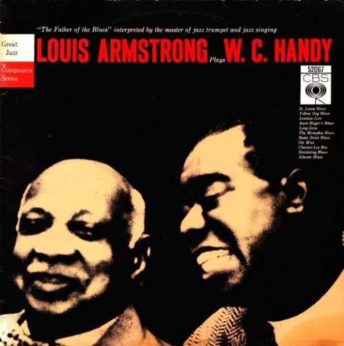 Cover zu Louis Armstrong - Louis Armstrong Plays W. C. Handy (LP, Album) Schallplatten Ankauf