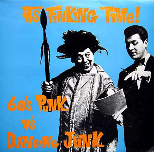 Cover Various - It's Finking Time (60's Punk Vs. Dancing Junk) (LP, Comp) Schallplatten Ankauf