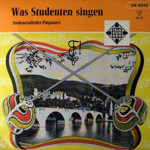 Bild Willy Langel - Karl Golgowsky und Studentenchor Mit Großem Begleitorchester* - Was Studenten Singen (7, EP) Schallplatten Ankauf