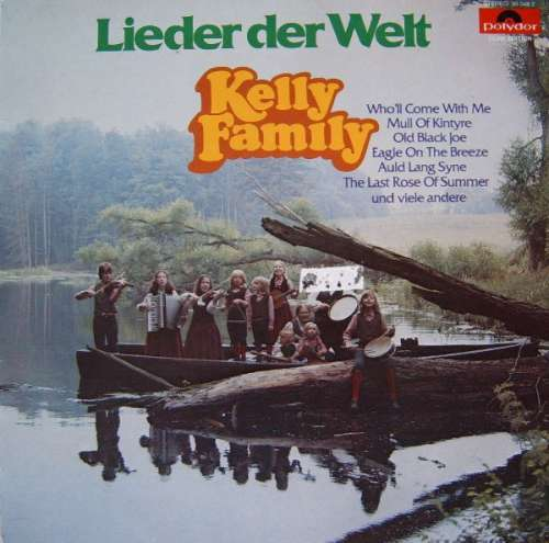 Cover The Kelly Family - Lieder Der Welt (LP, Album, Club) Schallplatten Ankauf