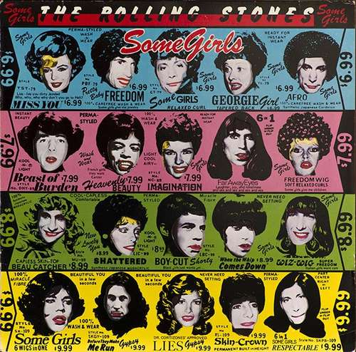 Cover The Rolling Stones - Some Girls (LP, Album) Schallplatten Ankauf