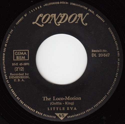 Bild Little Eva - The Loco-Motion (7, Single) Schallplatten Ankauf