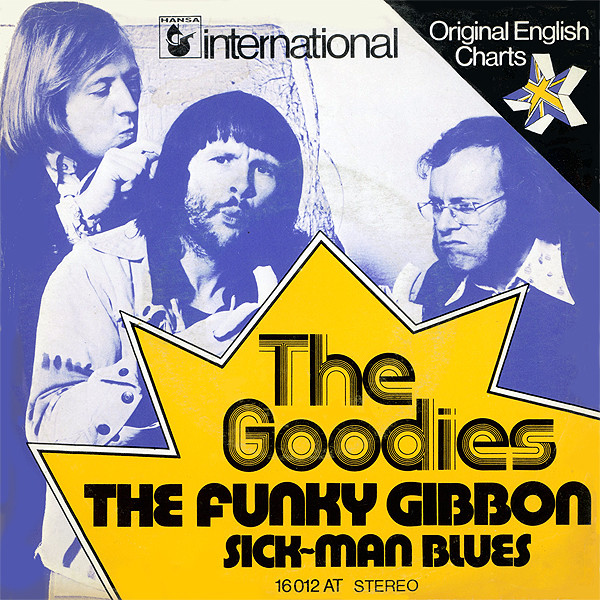 Cover The Goodies - The Funky Gibbon (7, Single) Schallplatten Ankauf