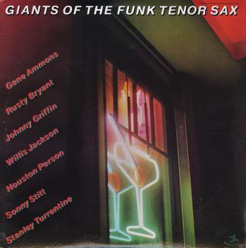 Cover zu Various - Giants Of The Funk Tenor Sax (2xLP, Comp) Schallplatten Ankauf
