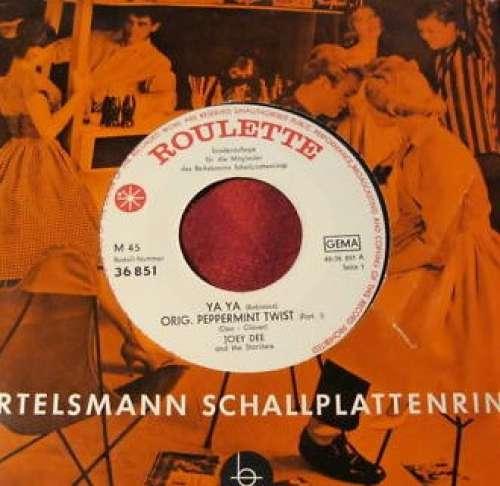 Cover zu Joey Dee And The Starliters* - Ya Ya (7, Club) Schallplatten Ankauf