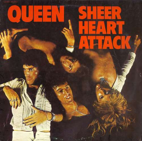 Cover Queen - Sheer Heart Attack (LP, Album) Schallplatten Ankauf