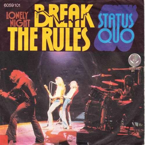 Bild Status Quo - Break The Rules (7, Single) Schallplatten Ankauf