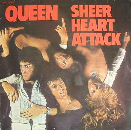 Cover Queen - Sheer Heart Attack (LP, Album, RE) Schallplatten Ankauf