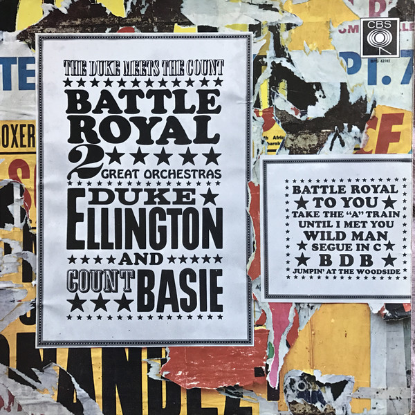 Cover Duke Ellington And Count Basie - Battle Royal - The Duke Meets The Count (LP, Album, Mono) Schallplatten Ankauf