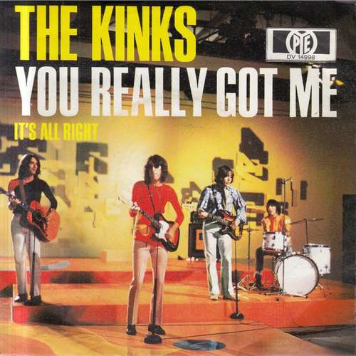Cover The Kinks - You Really Got Me (7, Single, RP) Schallplatten Ankauf