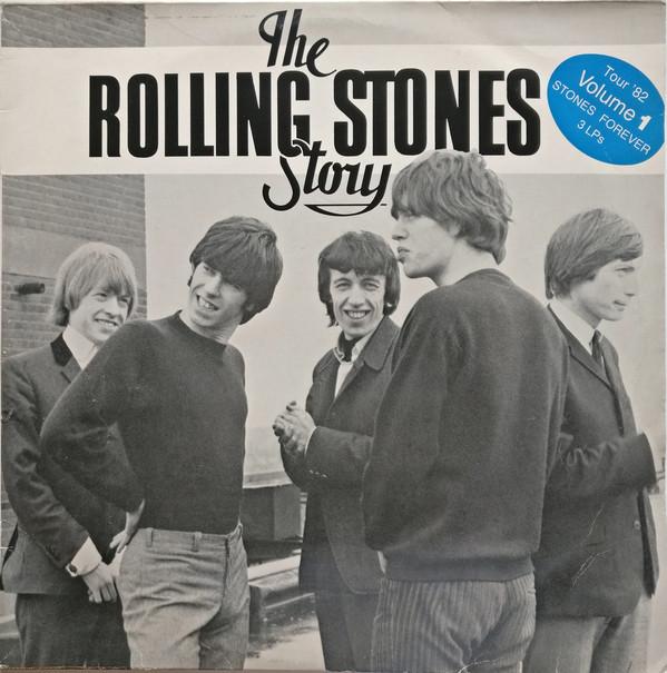 Cover The Rolling Stones - The Rolling Stones Story Volume 1 (3xLP, Comp) Schallplatten Ankauf