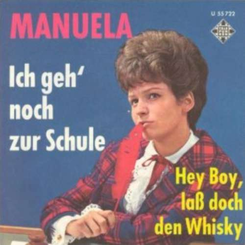Cover zu Manuela (5) - Ich Geh' Noch Zur Schule (7, Single) Schallplatten Ankauf