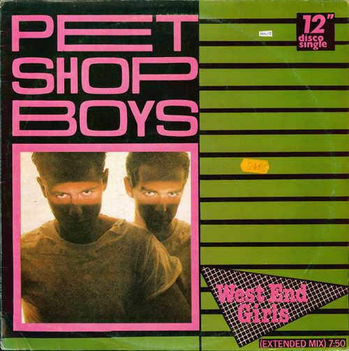 Cover Pet Shop Boys - West End Girls (Extended Mix) (12, Maxi, Fir) Schallplatten Ankauf