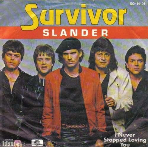 Bild Survivor - Slander (7, Single) Schallplatten Ankauf