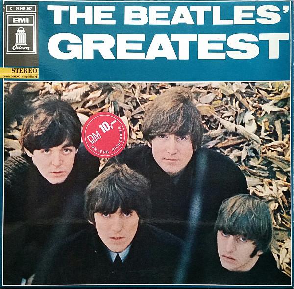 Cover The Beatles - The Beatles' Greatest (LP, Comp, M/Print, RE) Schallplatten Ankauf