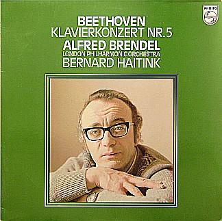 Bild Beethoven*, Alfred Brendel, London Philharmonic Orchestra*, Bernard Haitink - Klavierkonzert Nr. 5 (LP) Schallplatten Ankauf