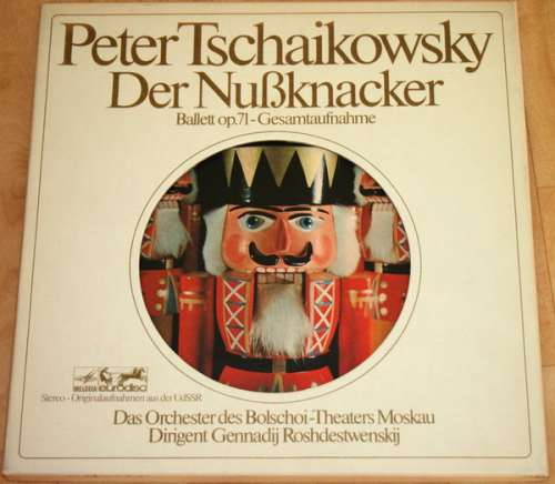 Bild Peter Tschaikowsky*, Das Orchester Des Bolschoi-Theaters Moskau*, Gennadij Rozdestwenskij* - Der Nußknacker Ballett Op. 71 - Gesamtaufnahme (2xLP, Album, Mono + Box) Schallplatten Ankauf