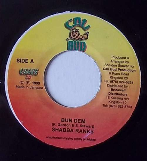 Cover zu Shabba Ranks - Bun Dem (7) Schallplatten Ankauf