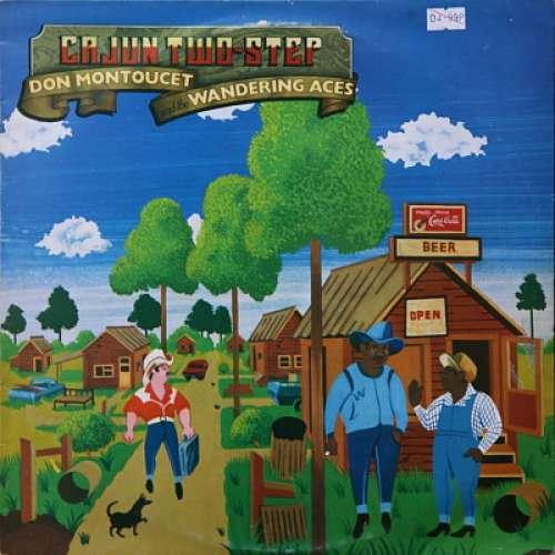 Cover zu Don Montoucet And The Wandering Aces - Cajun Two-Step (LP) Schallplatten Ankauf