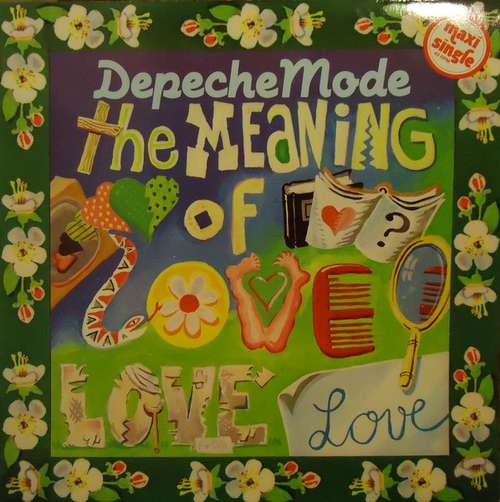 Cover Depeche Mode - The Meaning Of Love (12, Maxi) Schallplatten Ankauf