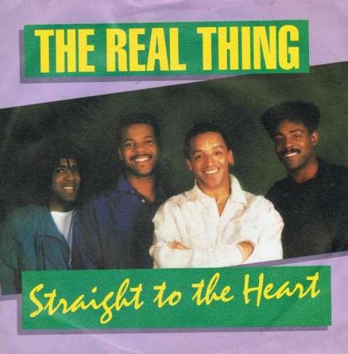 Bild The Real Thing - Straight To The Heart (7, Single) Schallplatten Ankauf