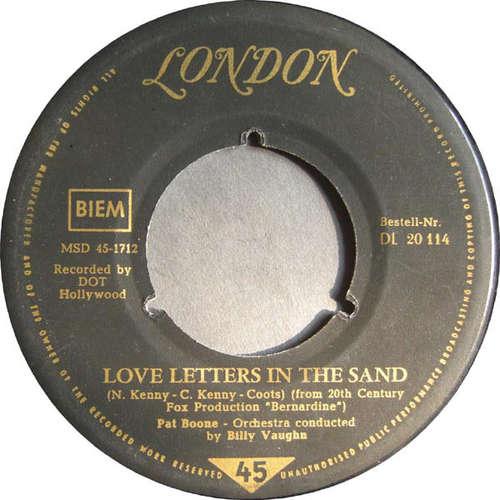 Bild Pat Boone - Love Letters In The Sand / Bernardine (7, Single) Schallplatten Ankauf