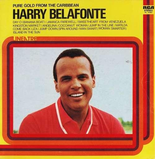 Bild Harry Belafonte - Pure Gold From The Caribbean (LP, Comp, RE) Schallplatten Ankauf