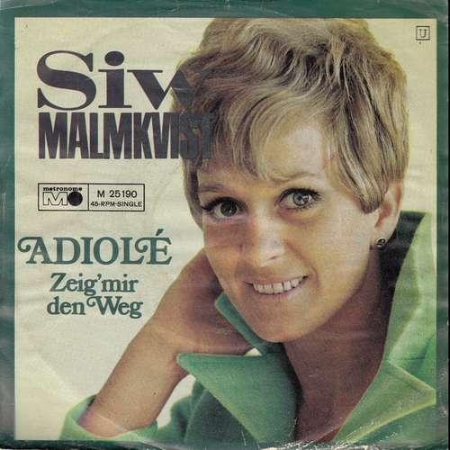 Bild Siw Malmkvist - Adiolé  (7, Single) Schallplatten Ankauf