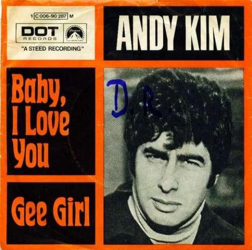 Bild Andy Kim - Baby, I Love You (7, Single, Mono) Schallplatten Ankauf