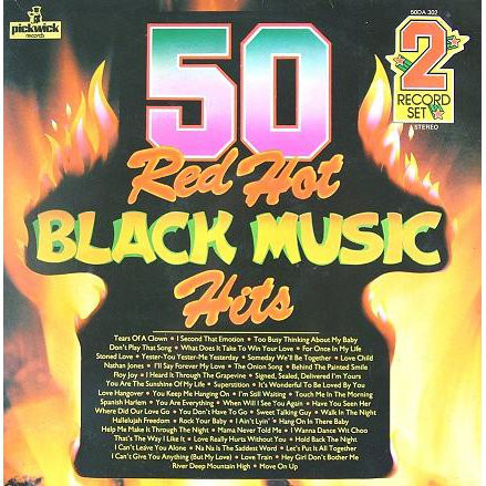 Cover The Top Of The Poppers - 50 Red Hot Black Music Hits (2xLP) Schallplatten Ankauf