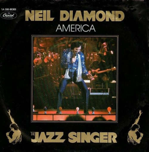 Cover Neil Diamond - America (7, Single) Schallplatten Ankauf