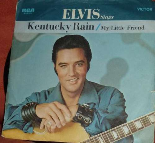 Cover Elvis Presley - Kentucky Rain (7, Single) Schallplatten Ankauf