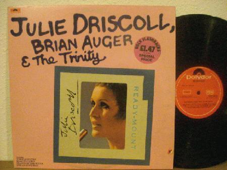 Cover zu Julie Driscoll, Brian Auger & The Trinity - Julie Driscoll, Brian Auger & The Trinity (LP, Comp) Schallplatten Ankauf